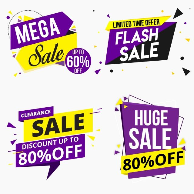 Png Flash Sale Banner Design Template Appicon Discount Tag Vector Illustration Banner Template Design Banner Design Design Template