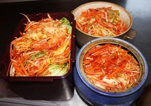 Kimchi - Fermented and a probiotic