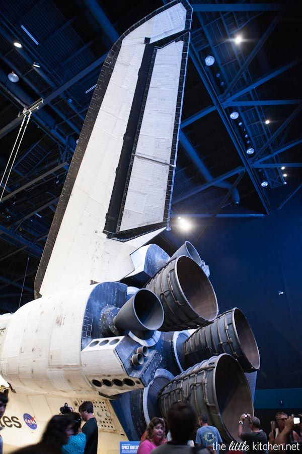 The Shuttle Atlantis at Kennedy Space Center