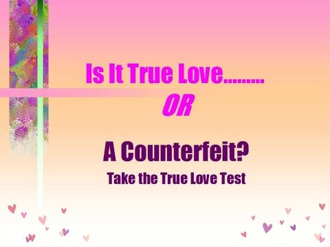 True Love Test for the Valentine's Day Lovers.