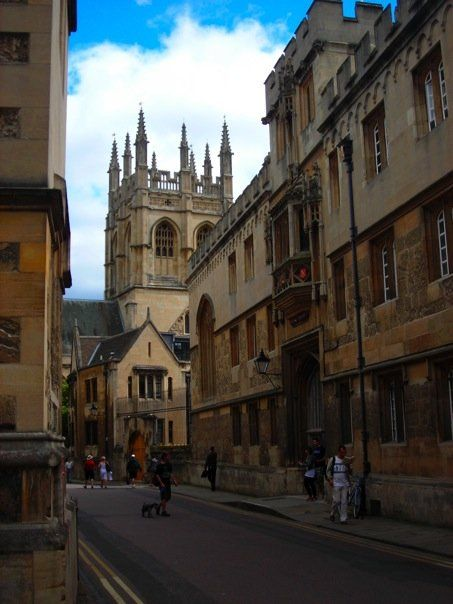 Oxford, England - My first English love