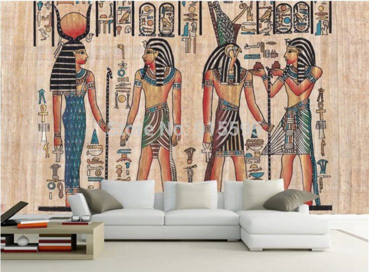 1000 ideas about bedroom murals on pinterest girls for Egyptian wallpaper mural