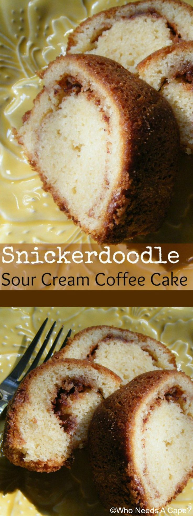 Sour cream coffee cake the frugal chef - Get The Coffee Pot Started Because You Must Have A Cup With This Scrumptious Snickerdoodle Sour