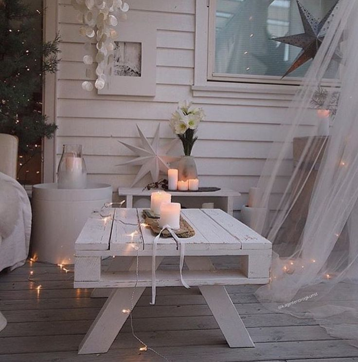 Must do to our pallet table!!