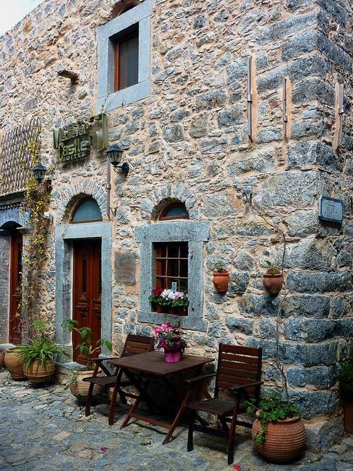 """Medieval Castle Suites"" in Mesta village, Chios island http://www.mcsuites.gr/en/mesta"