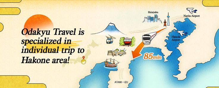 Odakyu Travel is specialized in individual trip to Hakone area!
