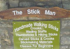 Keith Pickering, AKA The Stick Man  http://www.thestickman.co.uk/aboutus.htm