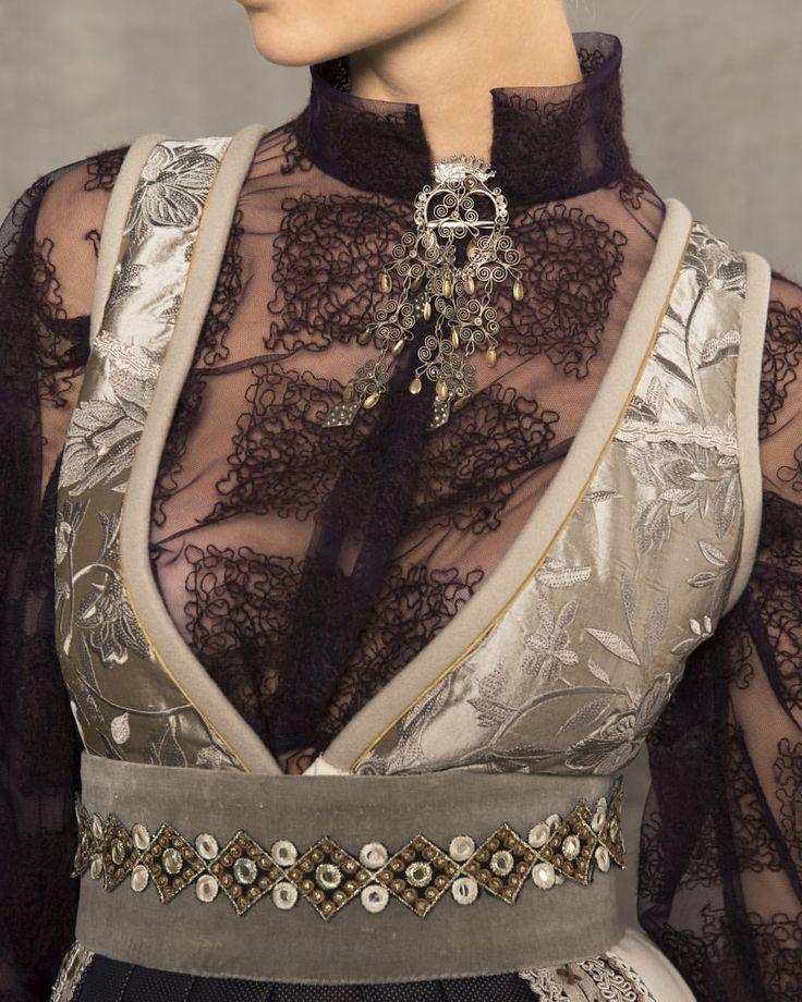 #fantasistakk #detaljer #gjennomsiktig #bånd #ribbons #sølje #gammeltognytt #vakkert #evaliedesign