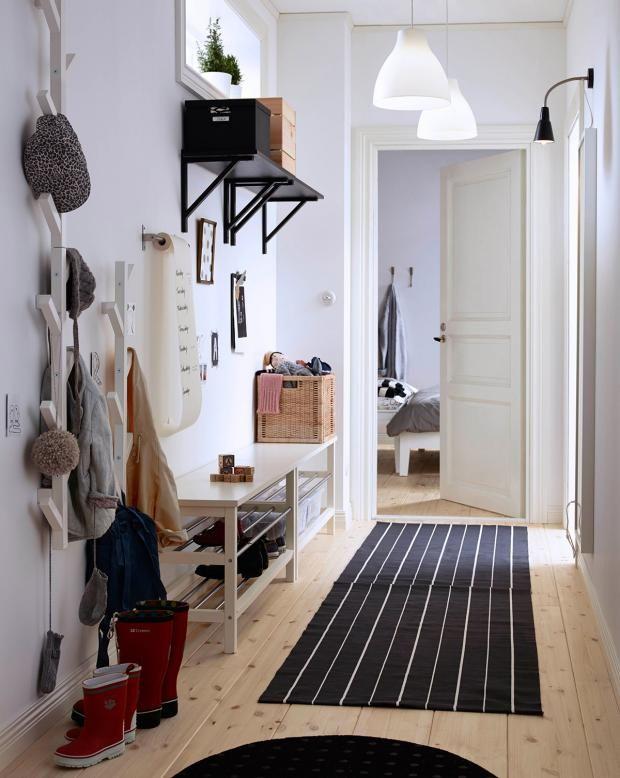 42 besten Flur Bilder auf Pinterest Schöner wohnen, Holz und Schlank - farbgestaltung im flur eingangsbereich