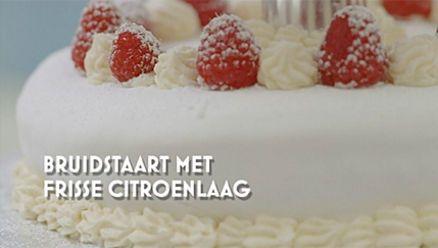 Heel Holland Bakt: Bruidstaart van Narcis