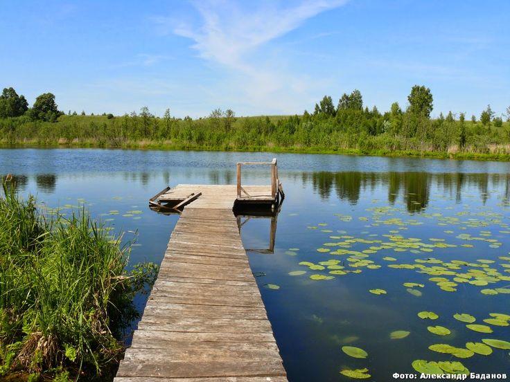 Деревня Шерембал. Озеро Пужан Ер Волжский район