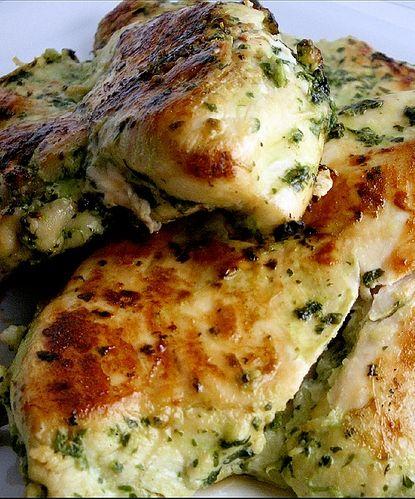 Cilantro Thai Grilled Chicken - this is AMAZING!!