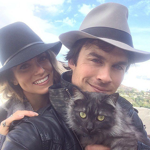 14 Snaps That Show Ian and Nikki Are Completely Head Over Heels For Each Other
