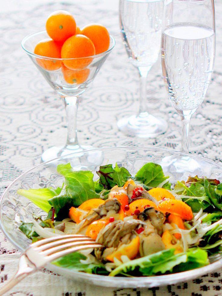 牡蠣のオイル漬けと生きんかんのマリネ by manngo | レシピサイト「Nadia | ナディア」プロの料理を無料で検索