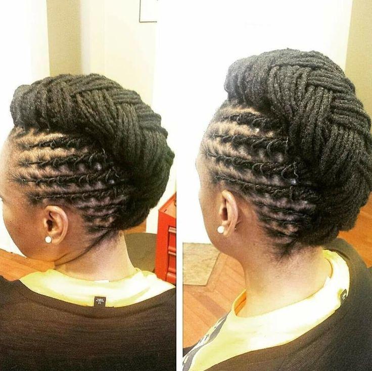 LOCMAMAS.COM #tbt❤️ #locmamas #locstyling #locs #new #hair #best #locs #atlstylist #retwist #loctician #locbun #stylistmlondon