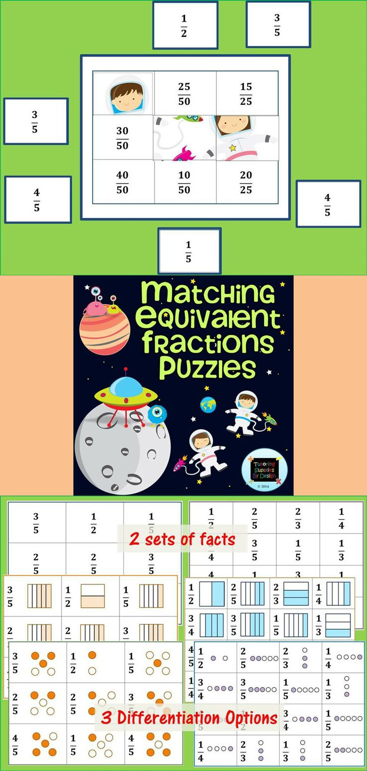85 best Math - Fractions images on Pinterest | Math fractions ...
