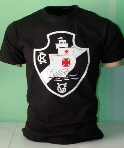 Club-Vasco-da-Gama-Regatas-Futebol-Soccer-Futbol-T-Shirt-Camisa