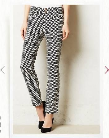 White prints, Print pants and Black and white prints on Pinterest