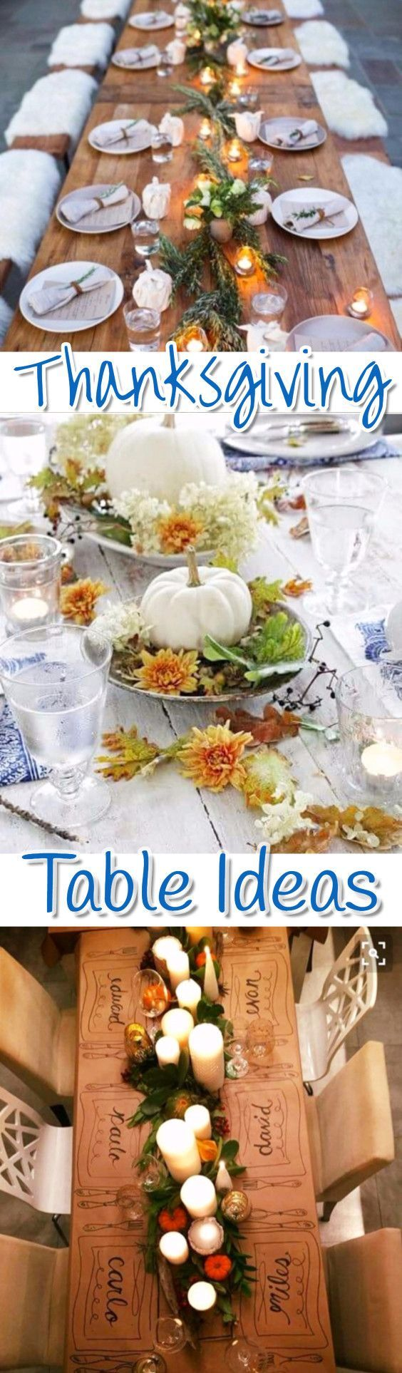 Thanksgiving Table Settings • DIY ideas for your Thanksgiving table • Thanksgiving Table Decor • Thanksgiving Centerpieces • Thanksgiving Dinner Table • Thanksgiving Tablescapes • Fall table & Fall Table Settings Pictures and ideas for small intimate romantic Thanksgiving table or a Thanksgiving table for a crowd.