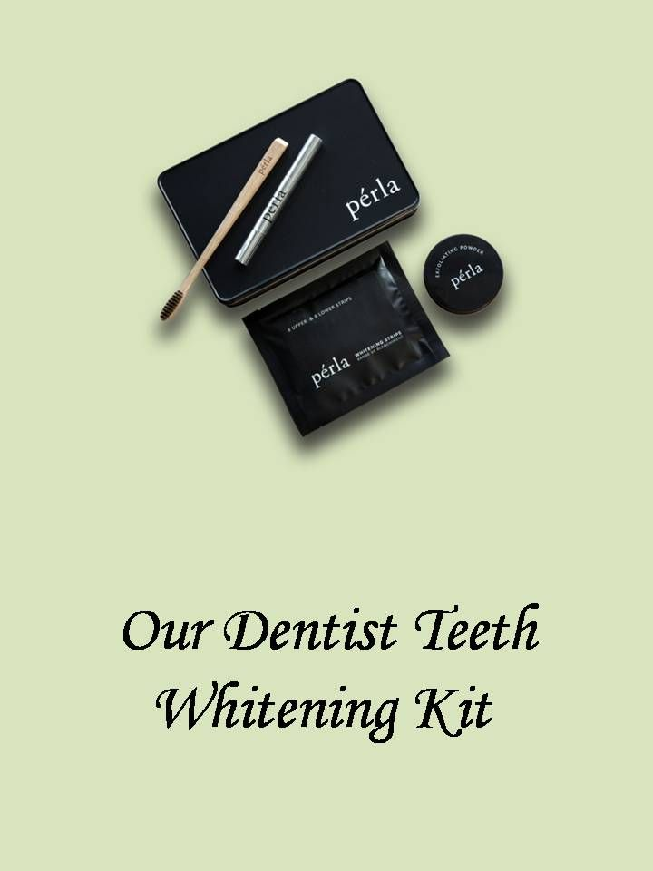 Our Dentist Teeth Whitening Kit are becoming popular because they are affordable solution for enhancing appearance. For Instant Teeth Whitening Kit Online, visit link:  https://www.perla.com.au/products/whitening-strips