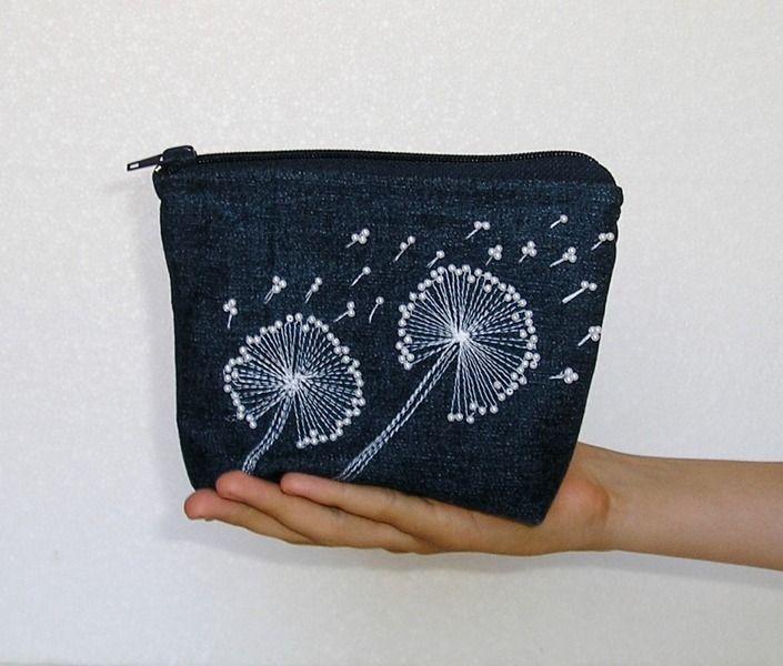 Cosmetic bags, zippen pouch, makeup bag from gofen by DaWanda.com