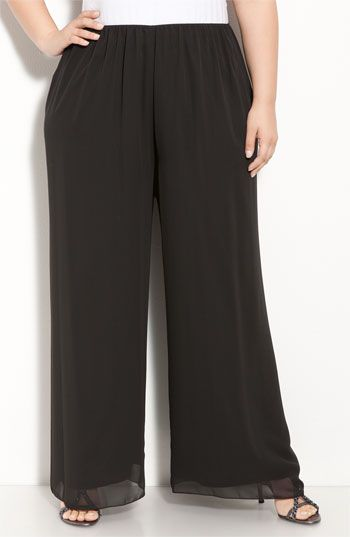 i would wear these as concert black but they really don't look like pallazzo pants to me.  pallazzo are supposed to look like a skirt and these definitely do not.