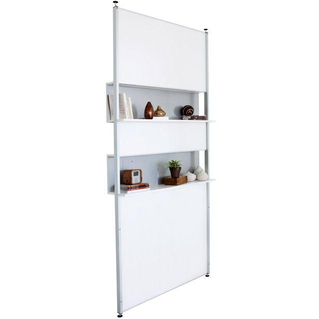 Cloison amovible bibliothèque Modulak - CASTORAMA 145eur