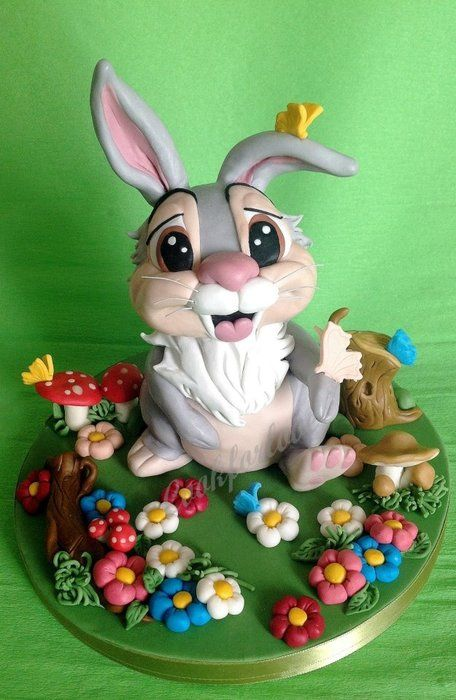 Thumper - by Cookforlove @ CakesDecor.com - cake decorating website