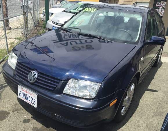 2000 Volkswagen Jetta GLS VR6 Sedan