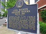 The Freedom Riders Movement: Freedom Riders Commemorative Plaque