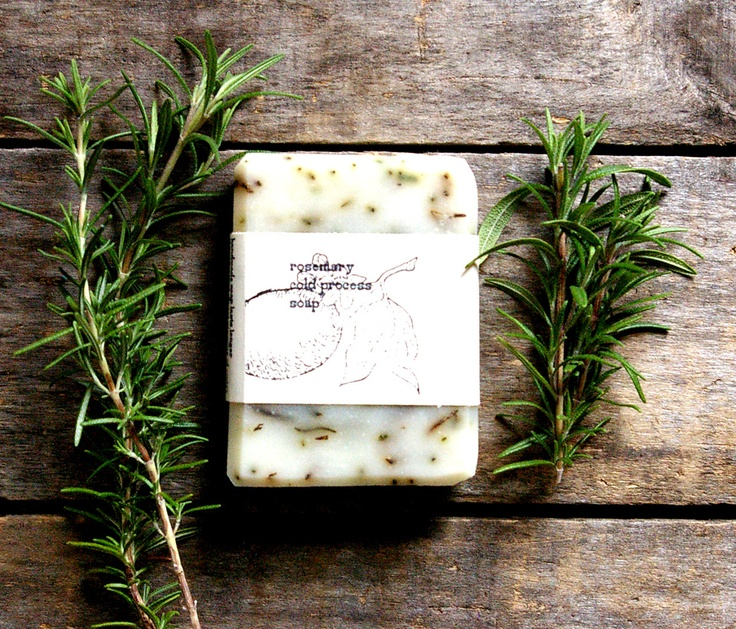 Cold Process Soap, rosemary, handmade large bar, organic ingredients