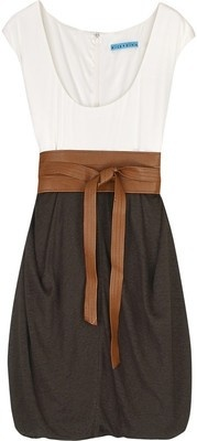 : Summer Dress, Style, Cute Dresses, Neutral Color, Outfit, Black Skirts, Brown, Leather Belts, Bubble Skirt