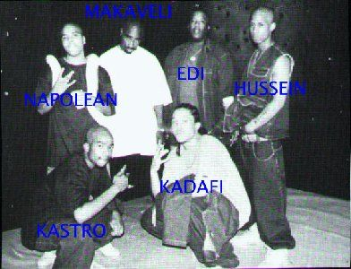 Tupac and The Outlaws R.I.P Tupac and Yaki Kadafi
