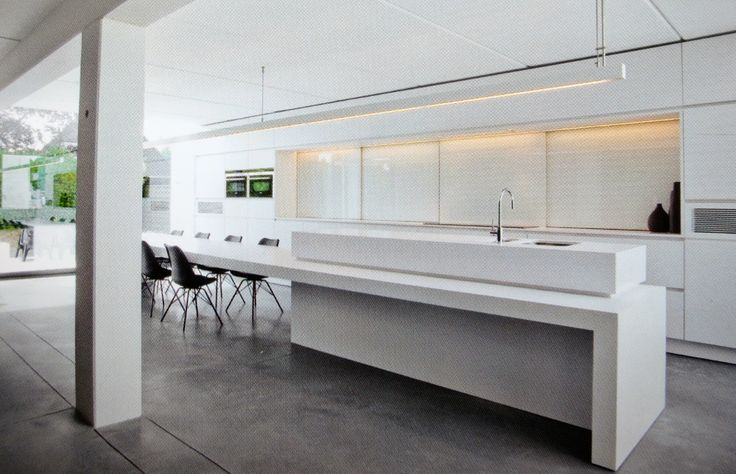 25 beste idee n over eiland tafel op pinterest kookeiland tafel keukeneetkamer en modern - Tafel centraal eiland ...