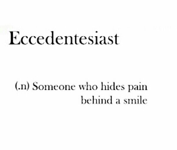 Well, apparently I'm an eccedentesiast