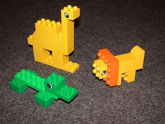 Duplo animals