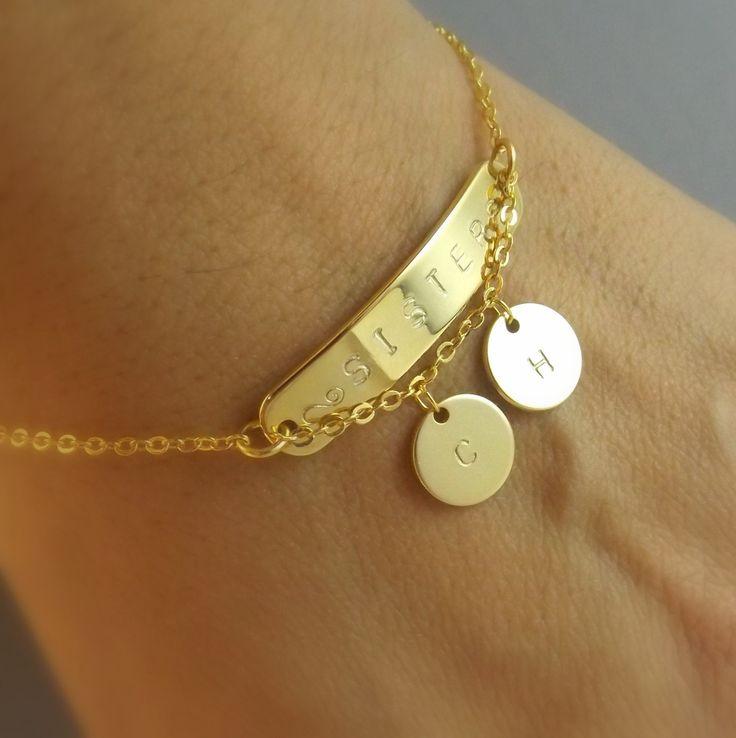 Custom name bracelet-sister gift, sisters bracelet , custom sister name bracelet, sisters name bracelet, family bracelet, mothers bracelet