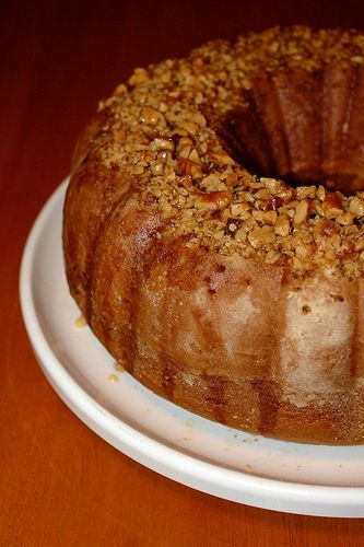 Christmas Bacardi Rum Cake recipe - from the OUR FAMILY COOKBOOK Family Cookbook