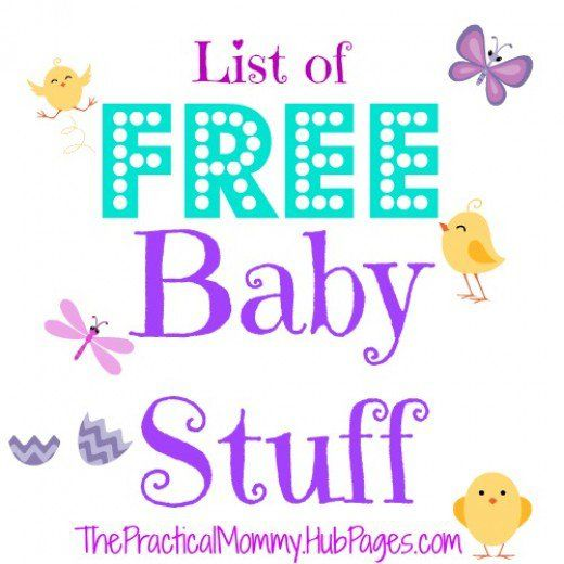 Want some free baby samples or other free baby stuff? Here's my list of free baby stuff!