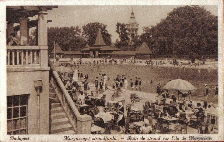 Margrit Island, Budapest, 1920