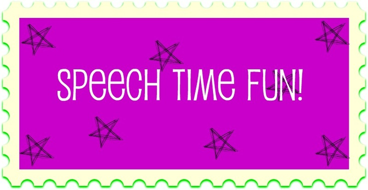 """SLP: Speech Time Fun - """"Miss Speechie"""" is also a brand-new and already prolific young blogger. Her posts are full of colorful, creative and fun ideas for the classroom.  She is active on Pinterest and often modifies ideas she finds there through a speech/language lens. - Pinned by @PediaStaff – Read about all the speech blogs we recommend: http://ht.ly/9HVRX"""
