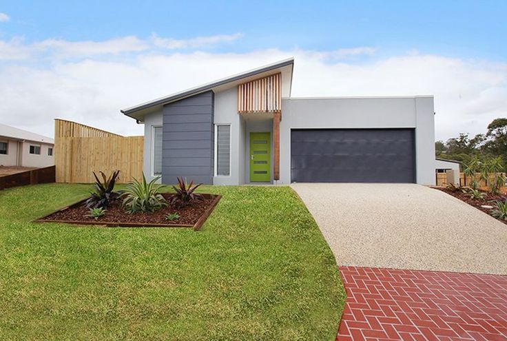 Exterior design for new build project for builder, First Choice Constructions, Sunshine Coast