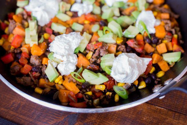 Mexicaanse Eenpansmaaltijd met zoete aardappel   Ohmyfoodness   Bloglovin