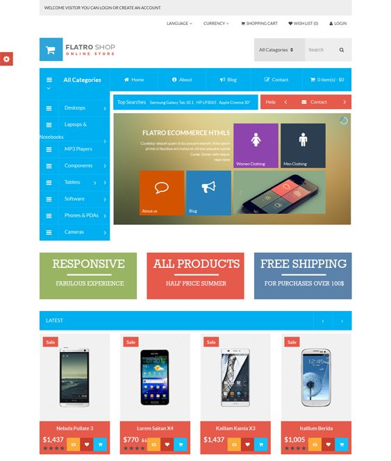 16 best 16 of the Best Free & Premium Bootstrap OpenCart Themes ...