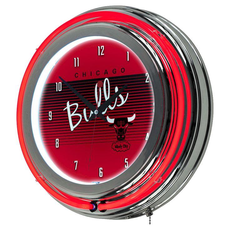 Chicago Bulls Team Logo Wall Clock