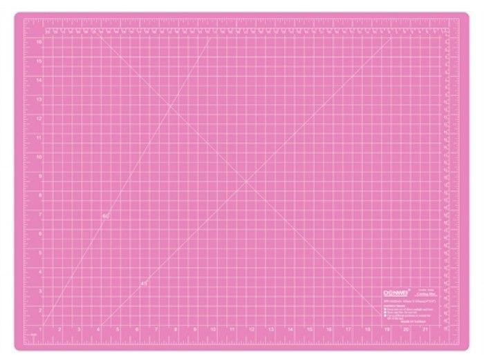 Skjærematte str. 900x600x3mm, Sew Mate, Rosa/Lilla