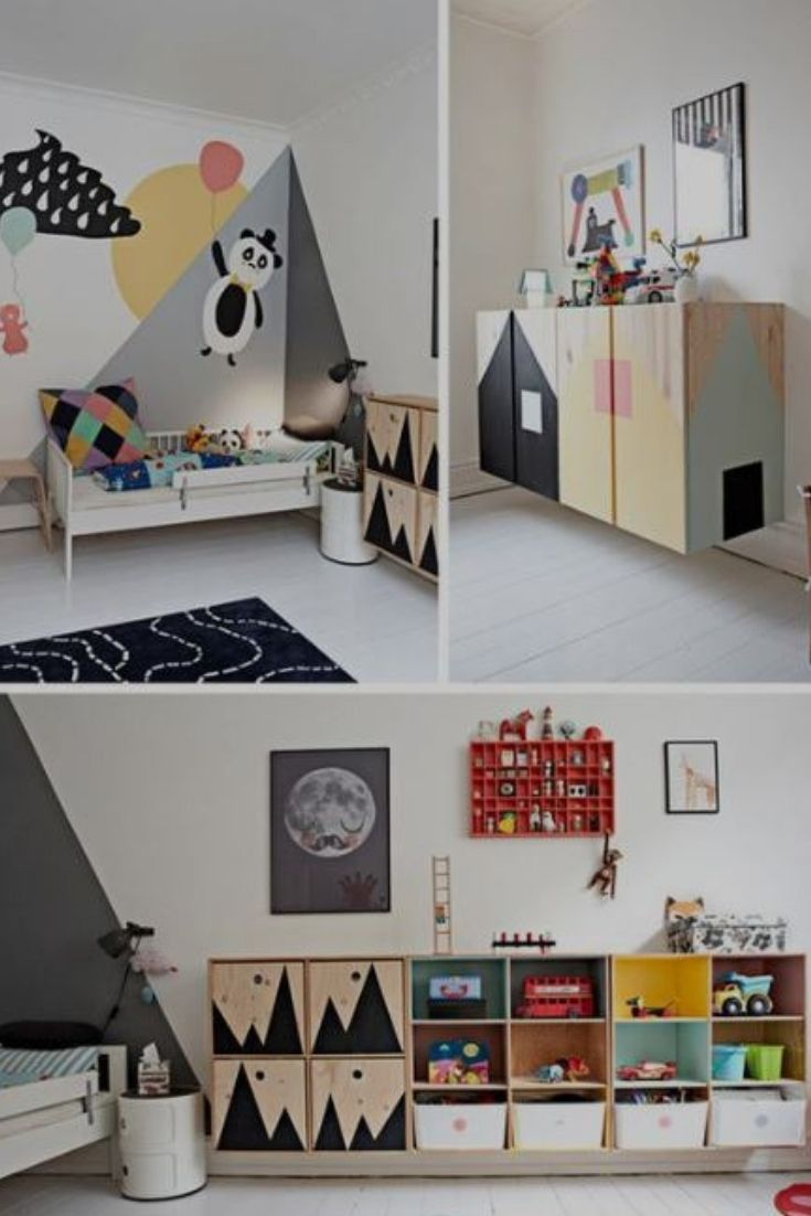 Kids Room Design Do You Know What Colors Are The Best For Kids Room Some People Say It S Blue Scandinavian Kids Rooms Kids Room Inspiration Kids Room Design