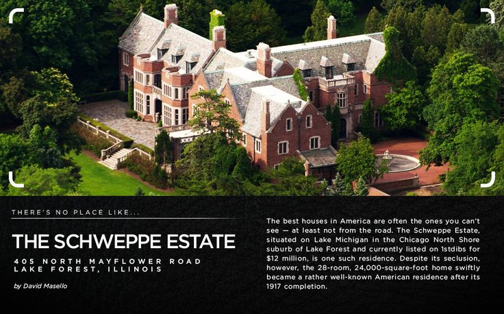 Amazing piece about the The Schweppe Estate in Lake Forest