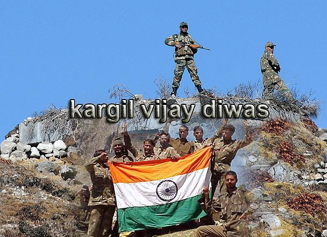 Kargil Vijay Diwas – A Big Salute to all the Real Brave ‪#‎Heroes‬ Who Fought for the Nation and led us Victory.  ‪#‎KargilVijayDiwas‬ ‪#‎VijayDiwas‬ ‪#‎Soldiers‬ ‪#‎BigSalute‬ ‪#‎JaiHind‬