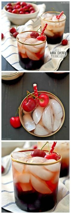 25 best ideas about cherry cocktails on pinterest for Fun cocktails with vodka